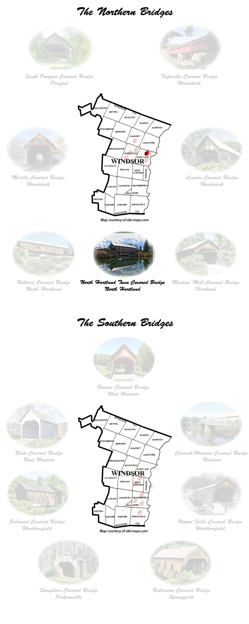 windsor County Covered Bridges