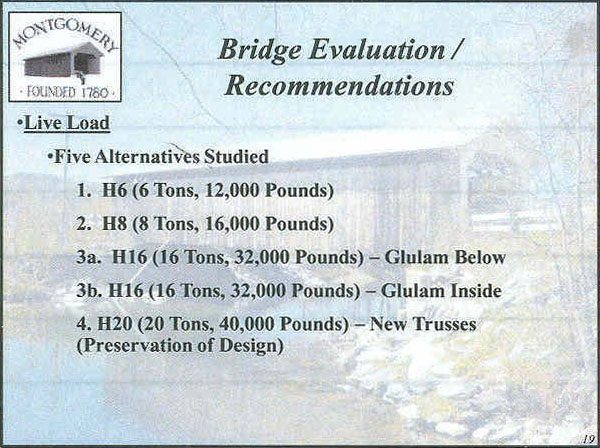 Longley Covered Bridge Powerpoint Page 19