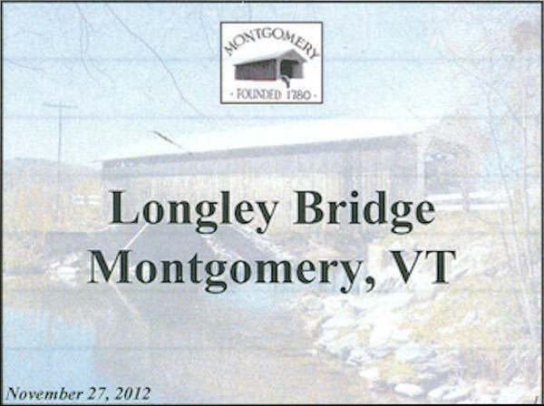 Longley Covered Bridge Powerpoint Page 1
